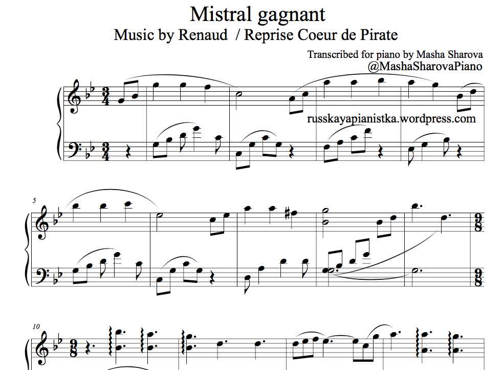 Mistral gagnant noty screen