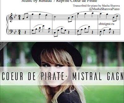 Шедевры французской песни для фортепиано