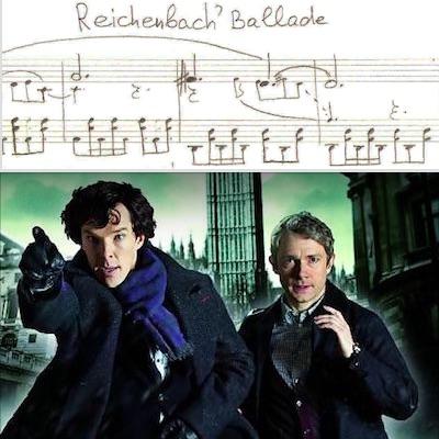 Шерлок Ноты переложение для фортепиано