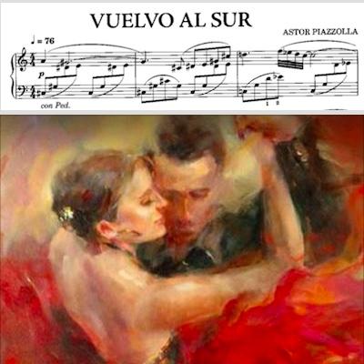 Астор Пьяццола танго для фортепиано